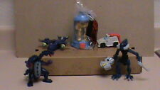 TRANSFORMERS 3 BURGER KING TOY Kids Meal Figures + BIONICLE? and 2 headed drago