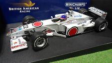 F1 BAR HONDA 02 VILLENEUVE #22 de 2000 formule 1/18 MINICHAMPS 180000022 voiture