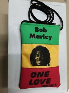 Bob Marley One Love Purse Bag Tote Excellent