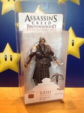 "Assassins Creed Brotherhood Ezio (Unhooded) Onyx Costume 7"" NECA Action Figure"