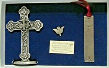 NIB Confirmation Gift Pewter Dove, Cross, & Metal Bookmark Specialty Products