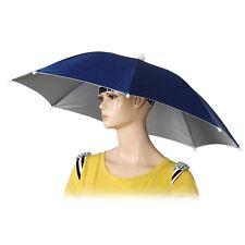"""26 """"Diametro fascia elastica pesca Headwear Ombrello Cappello blu scuro I9P2"""