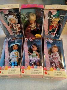 2001 Mattel Kelly Doll-Barbie in the Nutcracker lot of 6 Kelly Club