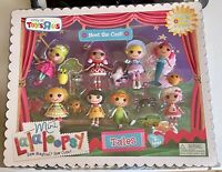 MINI LALALOOPSY MEET THE CAST MISB 8 DOLL SET ONLY AT TOYS R US EXCLUSIVE