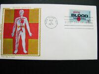 US Stamps # 1425 Colorano Silk Cachet FDC