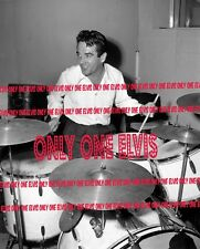 1946 IT'S THAT DRUMMER MAN, GENE KRUPA! Rehearsing at Capitol Records 8x10 Photo
