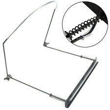 Professional Black Harmonica Neck Holder Harp Rack Support For 10 12 16 24 Holes