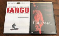 Fargo (Dvd, Special Edition) + Blood Simple (Dvd, Widescreen) Frances Mcdormand