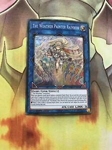 SPWA-EN035 The Weather Painter Rainbow Secret Rare 1st Edition Mint YuGiOh Card