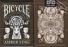 Bicycle Amber Stag Deck Playing Cards - Limited Edition – SEALED