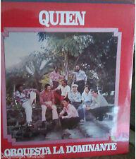 RARE salsa LP Orchestra La Dominante QUIEN el mismo pago A MI QUE soy sincero