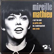 """Mireille Mathieu 7"""" C'Est Ton Nom - France (EX/EX)"""