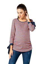 Umstandspullover Umstandsmode Umstandsshirt Schwanger Pullover Rippstrick Shirt