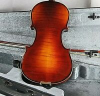 NEW 4/4 FULL SIZE GOLDEN FLAMED ROTHENBURG VIOLIN/FIDDLE-GERMAN