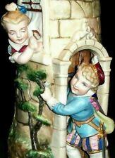 Antique German Victorian Heubach Era Boy & Girl Dolls Fairy Tale Bisque Figurine