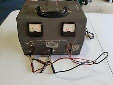Vtg 1960 Eico Model 1060 Low Ripple Battery Eliminator Amp Charger Working Shelfo5
