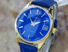 Citizen Parawater Vintage Japanese Manual Gold Plated 1960s Mens Dress Watch Q31