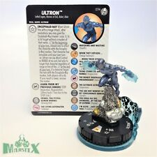 Heroclix Captain America and The Avengers set Ultron #074 Chase figure w/card!