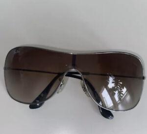 Ray-Ban (Women's) Shield Sunglasses RB 3211 004/13 Small