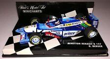 Minichamps F1 Benetton Renault B197 1997 Gerhard Berger 1/43