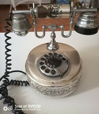 Telefono Fisso Vintage In Metallo Pesante