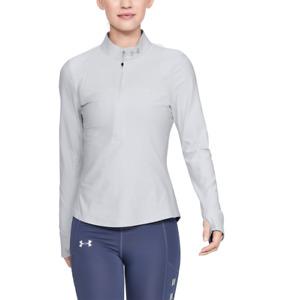 Under Armour Women's UA Qualifier 1/2 Zip Shirt 1326512 size Medium