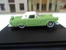 Oxford  1956 Ford Thunderbird  Sage Green     1/87   HO    diecast car