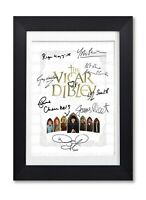 VICAR OF DIBLEY CAST SIGNED POSTER SHOW SERIES SEASON PRINT PHOTO AUTOGRAPH GIFT
