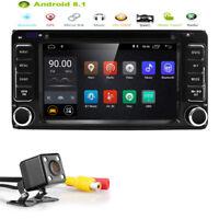 Android 8.1 Car DVD Stereo GPS CAM DAB+ OBD2 for Toyota Hilux Prado RAV4 Corolla