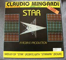 Claudio Mingardi, medley of star (robyx) with Starman (david Bowie), Maxi Vinyl