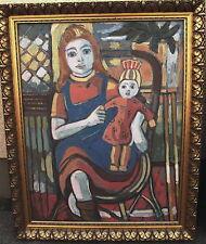 Heinz Friedrich Kirchner 1926-2000, Mädchen mit Puppe, um 1950