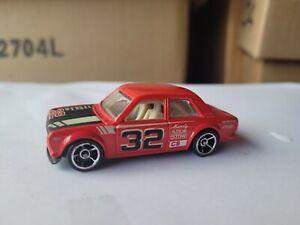 Hot Wheels 2012  - DATSUN 510 [RED] OH5 WHEELS VARIATION XVHTF EXCELLENT