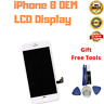 For Original Iphone 8 White Lcd Digitizer Assembly Genuine Full Screen Display