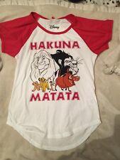 Jay Jay's Disney The Lion King Hakuna Matata Top Sz M Bnwt Free Post (e33)