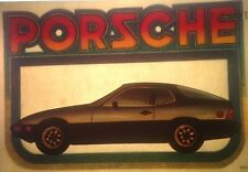 Original 1981 Porsche Carrera Iron On Transfer German Last One