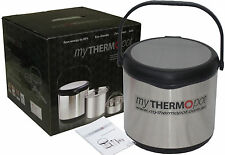 6L MY THERMO POT THERMAL THERMOPOT MAGIC CAMPING CARAVAN SLOW COOKER - BLACK