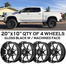 Chevrolet Silverado 1500 4WD YEAR 19,20,2019,2020  20x10 -24 (QTY OF 4 WHEELS)