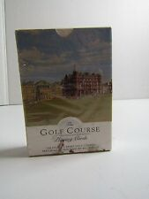 The Golf course Playing Cards.  Painting by Bill Waugh NIP