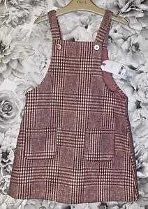 Girls Age 4-5 Years - Next Pinafore Dress - BNWTS