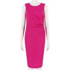 Emilio Pucci Fuchsia Pink Form-Fitting Gold Zipped Dress IT42 UK10