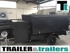 8x5 GARDENING TRAILER HEAVY DUTY Ramp - *NEW TYRES*