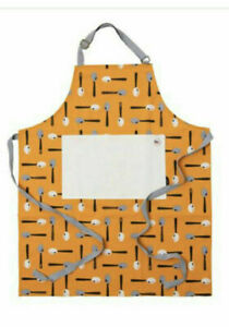 Bake Off 2019 Star Baker Apron by Ted Baker Kitchen Cook Orange Spoon Design New