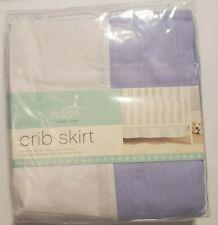 Aden + Anais Classic Crib Skirt ~ Blue and White