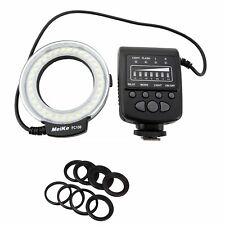 SHOOT MK FC-100 Led Macro Ring Flash Light for Nikon Canon EOS 700d 650d 6d 5d
