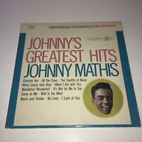 "Johnny Mathis ""Greatest Hits"" Vintage Vinyl LP Columbia CS 8634 1958"