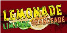 Lemonade Limeade Orangeade New Full Color Vinyl Banners Choose Your Size