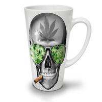 Skeleton Smoke Weed NEW White Tea Coffee Latte Mug 12 17 oz | Wellcoda