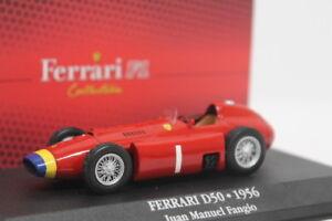 FERRARI D50 1956 Juan Manuel Fangio EDICOLA 1:43 ED7174001