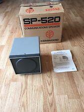Kenwood SP-520 Station Speaker For Ham Radio In Original Box With Instructions