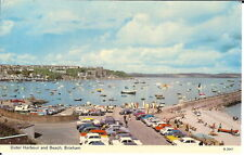 Devon: Outer Harbour and Beach, Brixham - Posted 1973